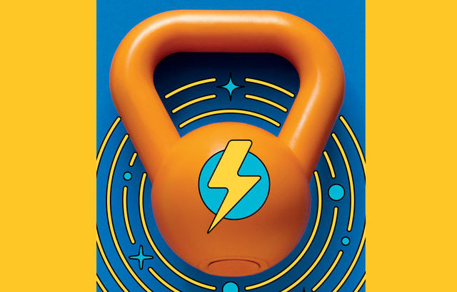 own your morning kettlebell graphic