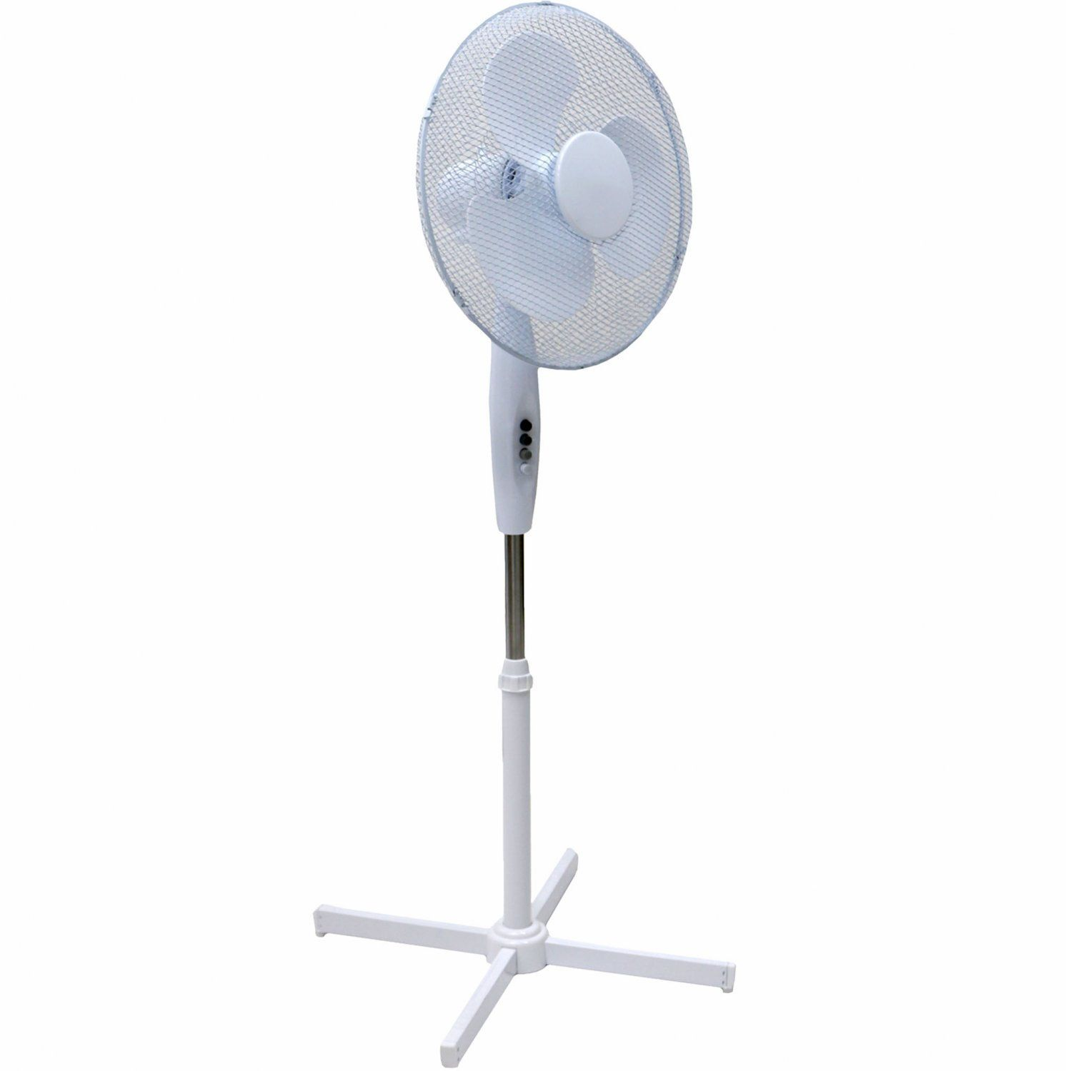 """Oypla Electrical 16"""" Oscillating Pedestal Electric Cooling Fa"""