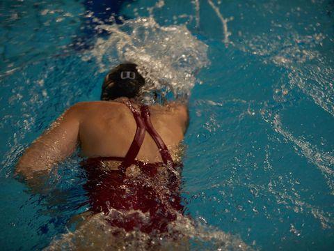 Swimming, Water, Recreation, Swimmer, Swimming pool, Fun, Leisure, Swimwear, Muscle, Individual sports,