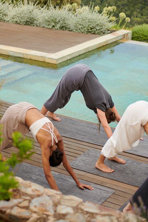oysho colección yoga y meditación