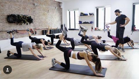 Physical fitness, Pilates, Exercise, Fitness professional, Circuit training, Strength training, Sports, Stretching, Aerobics, Leg,