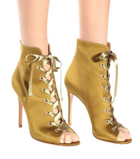 Footwear, High heels, Shoe, Brown, Tan, Beige, Khaki, Yellow, Boot, Ankle,
