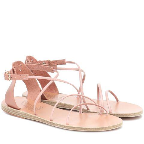 ancient greek sandals  皮革涼鞋