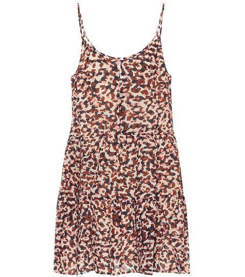 velvet 動物紋印花洋裝