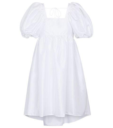 cecilie bahnsen 白色泡泡袖公主洋裝