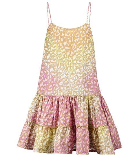 juliet dunn 彩色印花吊帶洋裝