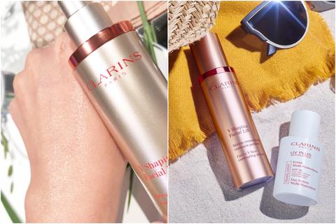 Product, Beauty, Skin, Cosmetics, Material property, Lip gloss, Lipstick, Gloss, Hand, Bottle,