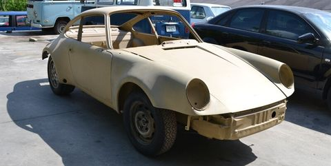 Vintage Porsche 911 Shell Project For Sale On Ebay Motors