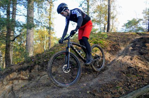 trek, supercaliber, full suspension, mountainbike, bicycling, bicycling nl