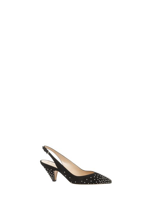 Footwear, Slingback, Shoe, Court shoe, Beige, Ballet flat, High heels, Leather, Basic pump,
