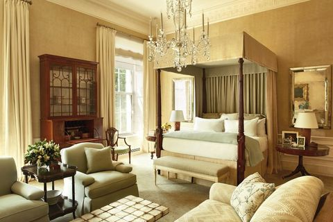 the obama era white house master bedroom, designed by michael s smith