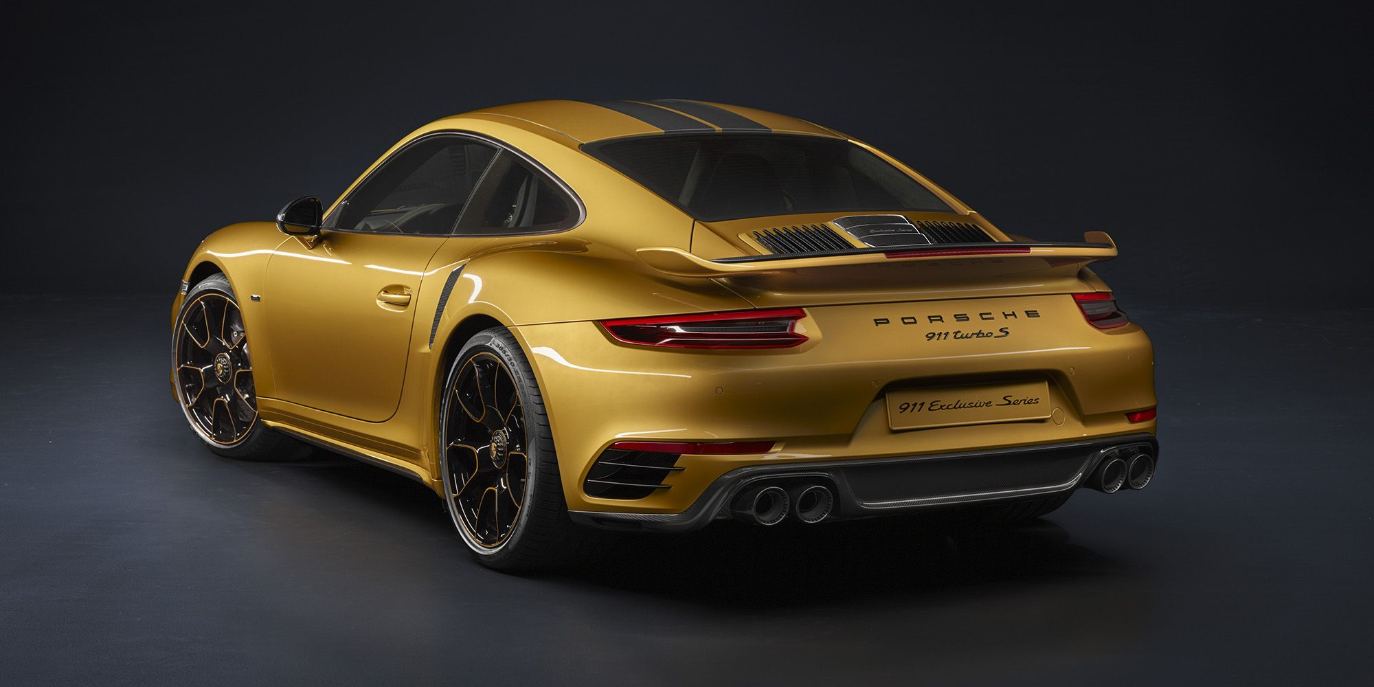 porsche gave the 911 turbo s 607 hp and some uh interesting paint