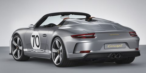 Cheap Sports Cars >> The New Porsche 911 Speedster Concept Is Basically a GT3 Convertible