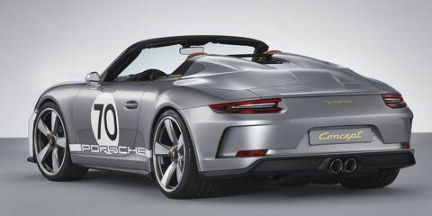 The New Porsche 911 Speedster Concept Is Basically a GT3 Convertible