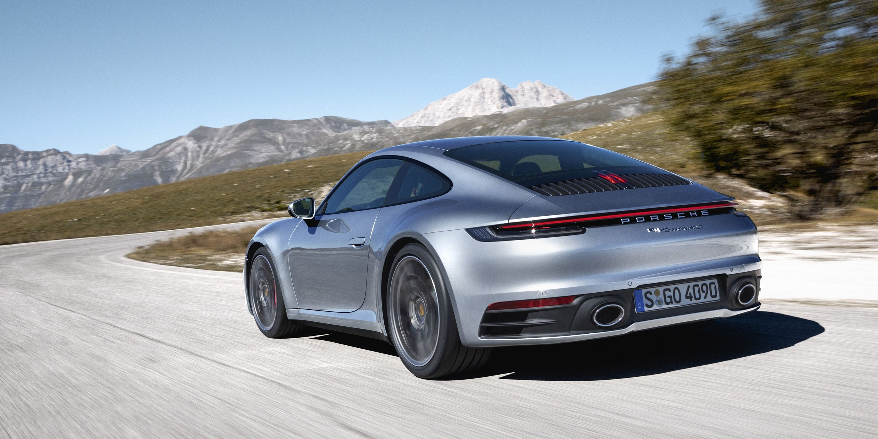 New Porsche 911 Carrera Revealed 2020 Porsche 992 Debuts At La