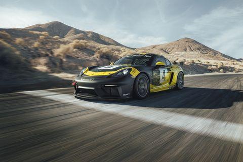 New Porsche 718 Cayman Gt4 Clubsport Porsche Cayman Race Car