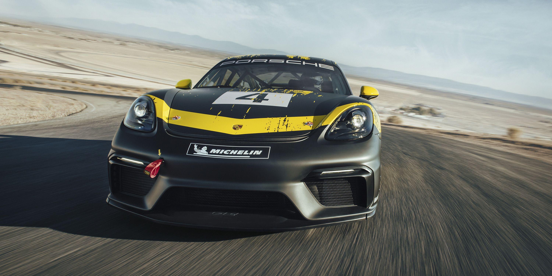 The Porsche 718 Cayman GT4 Won't Get the Clubsport's 3 8