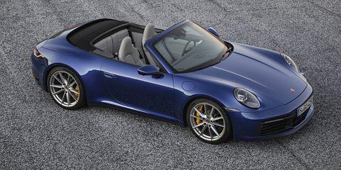 Porsche 992 Cabriolet Pictures