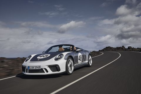 2020 Porsche 911 Speedster Road Test Review