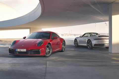The 2020 Porsche 911 Carrera 4/Carrera 4 Cabriolet Are Latest in a Crushing Tide of New 911 Variants