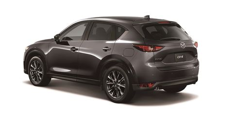 See the JDM-Spec Mazda CX-5 XD Exclusive Mode with a Bigger Turbo Engine