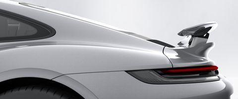 Porsche 911 Turbo S rear wing