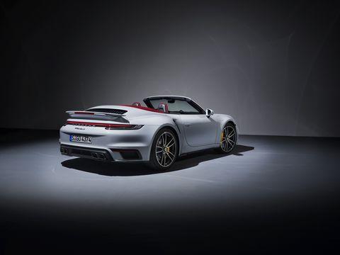 2021 Porsche 911 Turbo S Cabriolet
