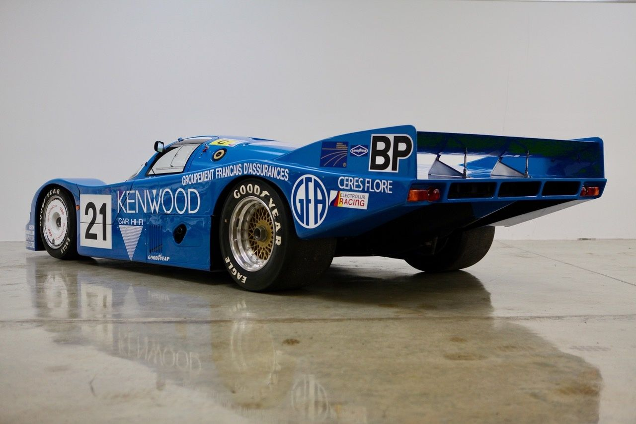 You Can Own This Porsche 956 Raced By Two Andrettis at Le Mans