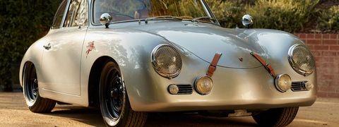 Land vehicle, Vehicle, Car, Classic car, Regularity rally, Porsche 356, Coupé, Antique car, Sports car, Sedan,