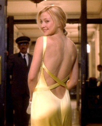 andie anderson iconic yellow dress