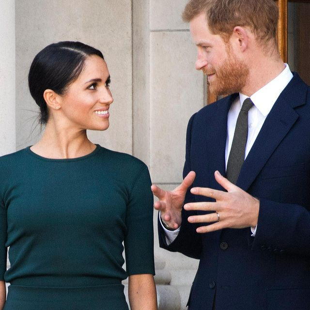 p8cgeg dublin, ireland 10th july, 2018 prince harry and meghan, the duke en duchess of sussex, arrive in dublin, on the 1st of a 2 days visit to dublin photo  albert nieboer netherlands outpoint de vue out  credit dpaalamy live news