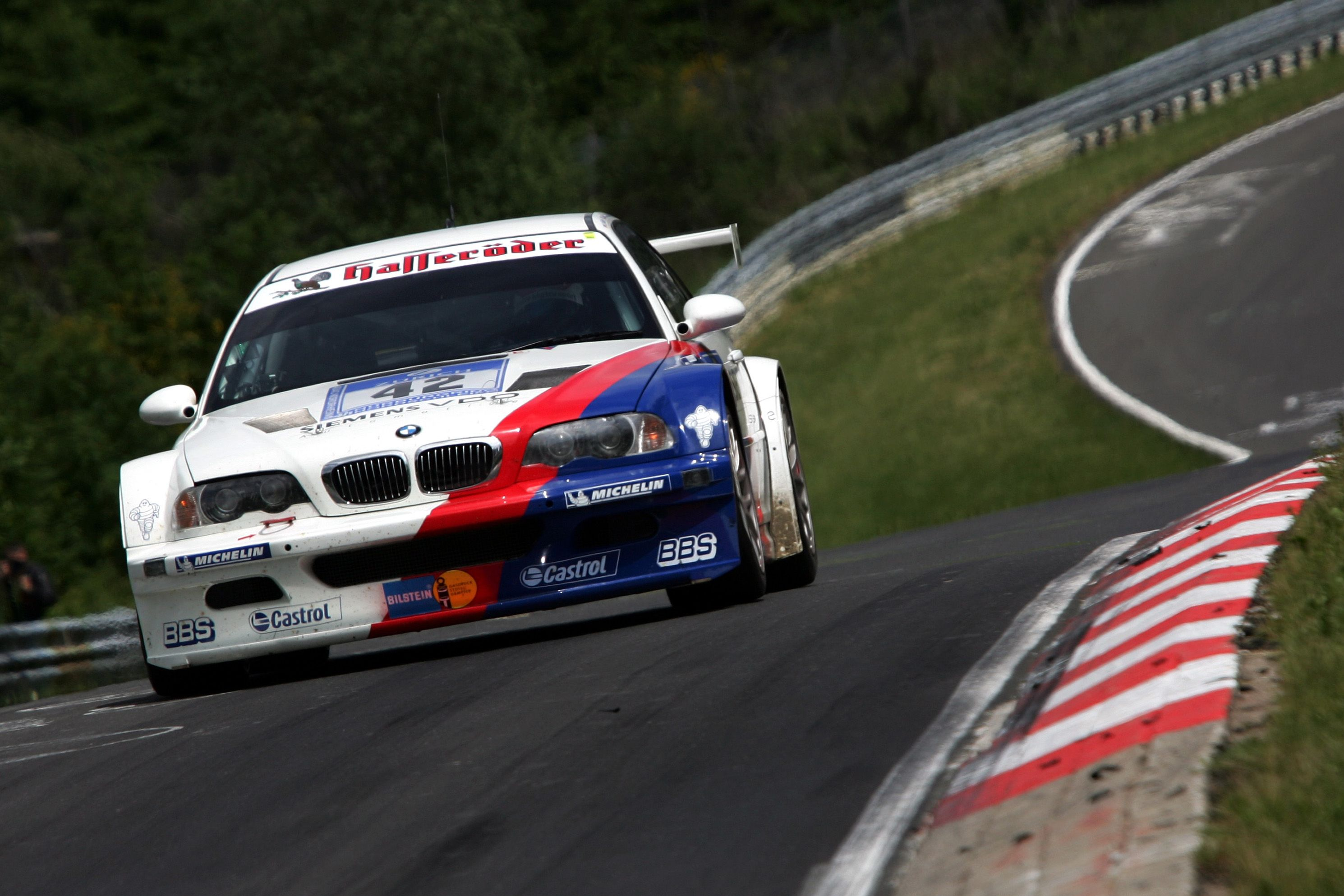 Hans-Joachim Stuck Narrating a Nürburgring Lap In an M3 GTR Will Get You Hyped