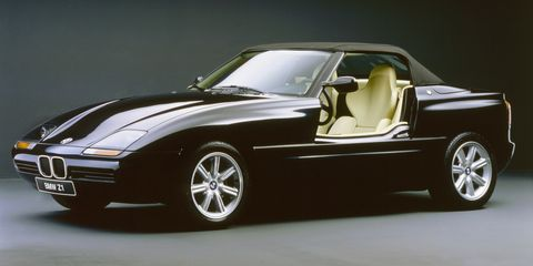 BMW Z1 black press photo