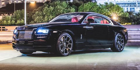 The Rolls Royce Wraith Black Badge Costs Many First Cl Plane Tickets For A Reason