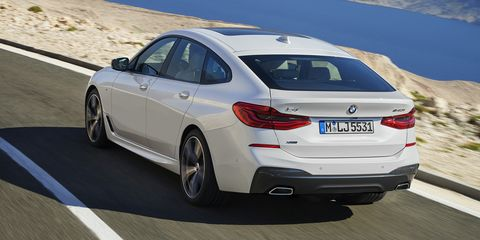 The 2018 BMW 6 Series Gran Turismo Is A 5 With That Big Perplexing Trunk