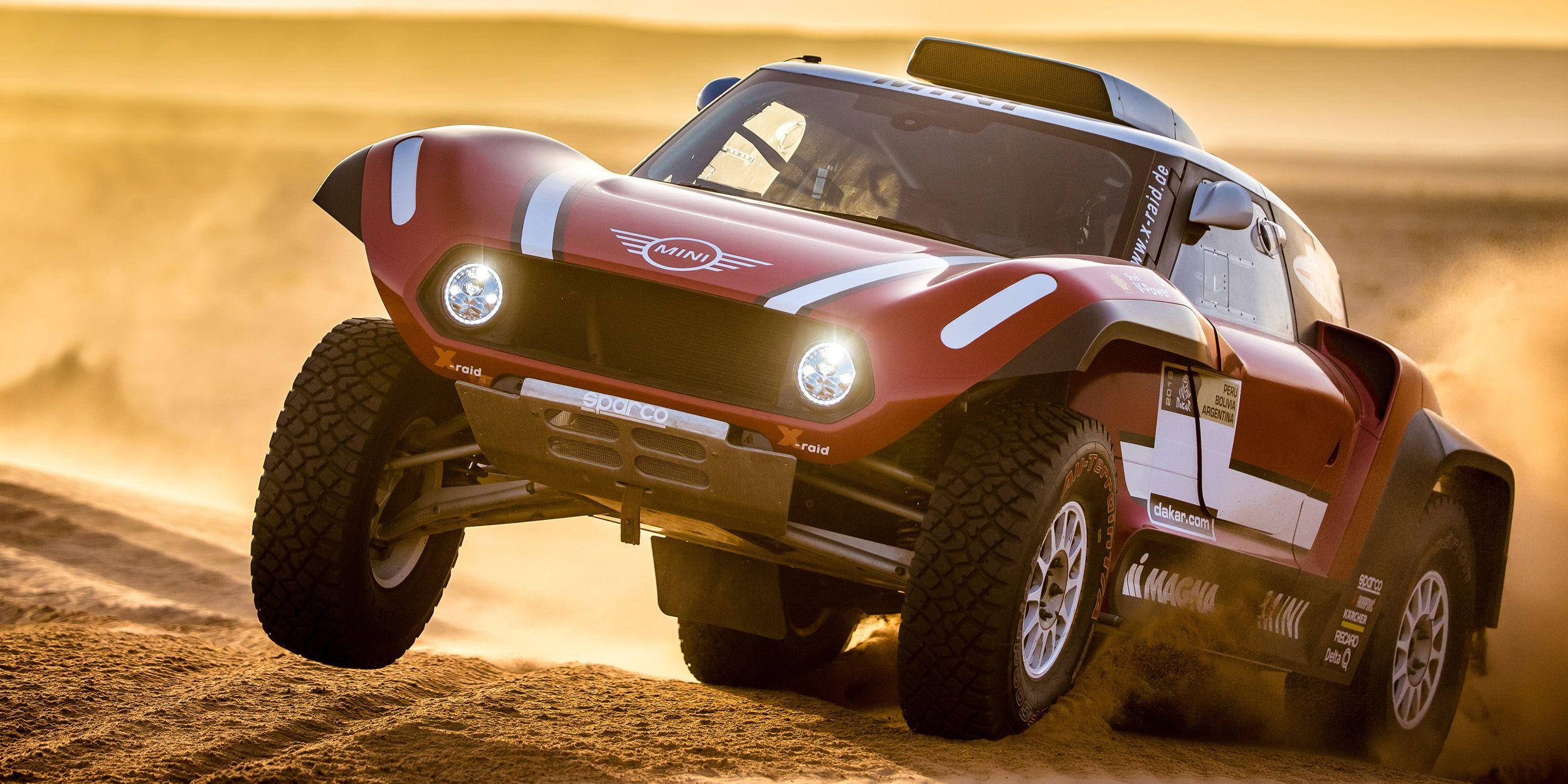 Mini's Dakar Dune Buggy Looks Like Endless Fun