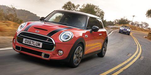 Mini Is Bringing Back the Six-Speed Manual Transmission