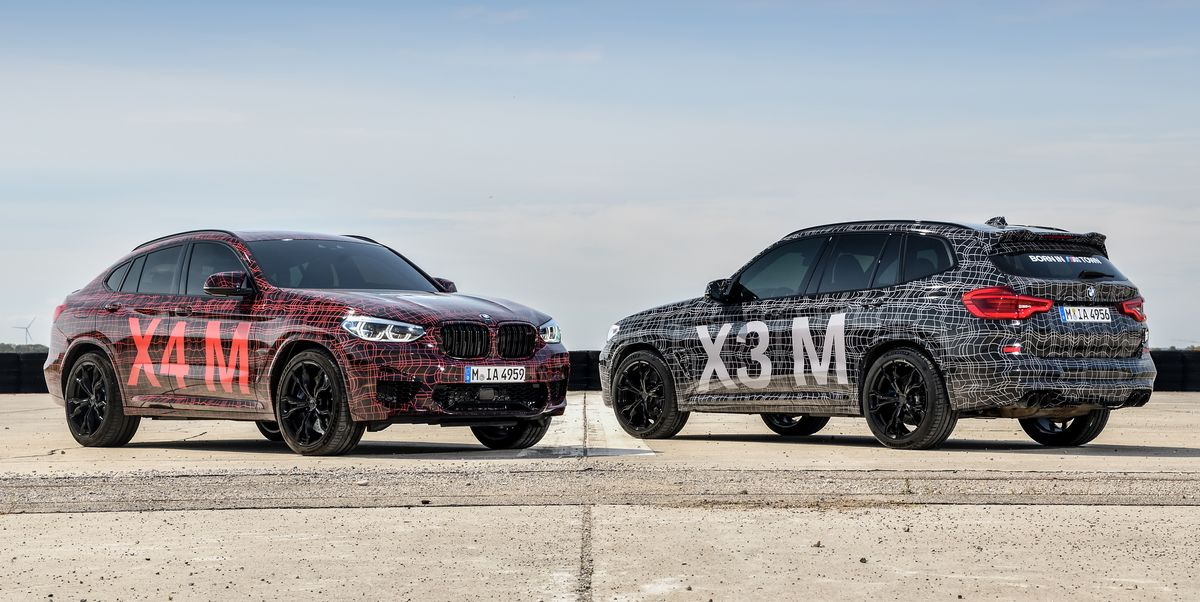 bmw is making m versions of the x3 and x4. Black Bedroom Furniture Sets. Home Design Ideas