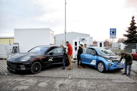 Bmw And Porsche Have Jointly Developed Three Minute Electric Car Charging