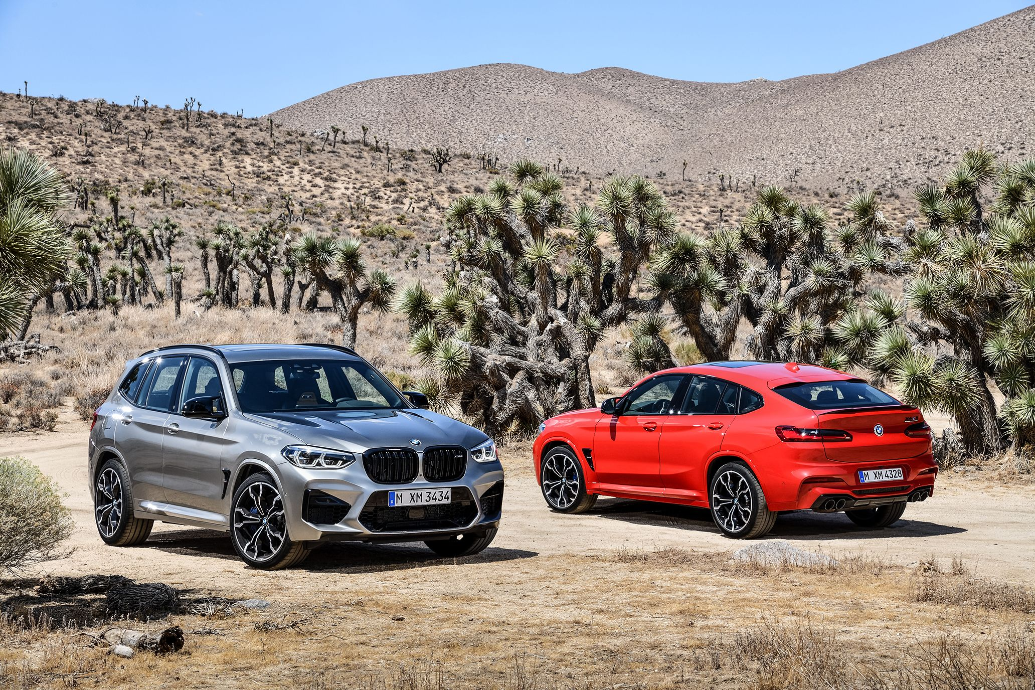 The 2020 BMW X3 and X4 M Competition Are Here With 503 Twin-Turbo Horsepower