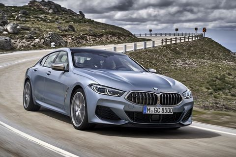 this is the bmw m850i xdrive gran coupe in detail and in action