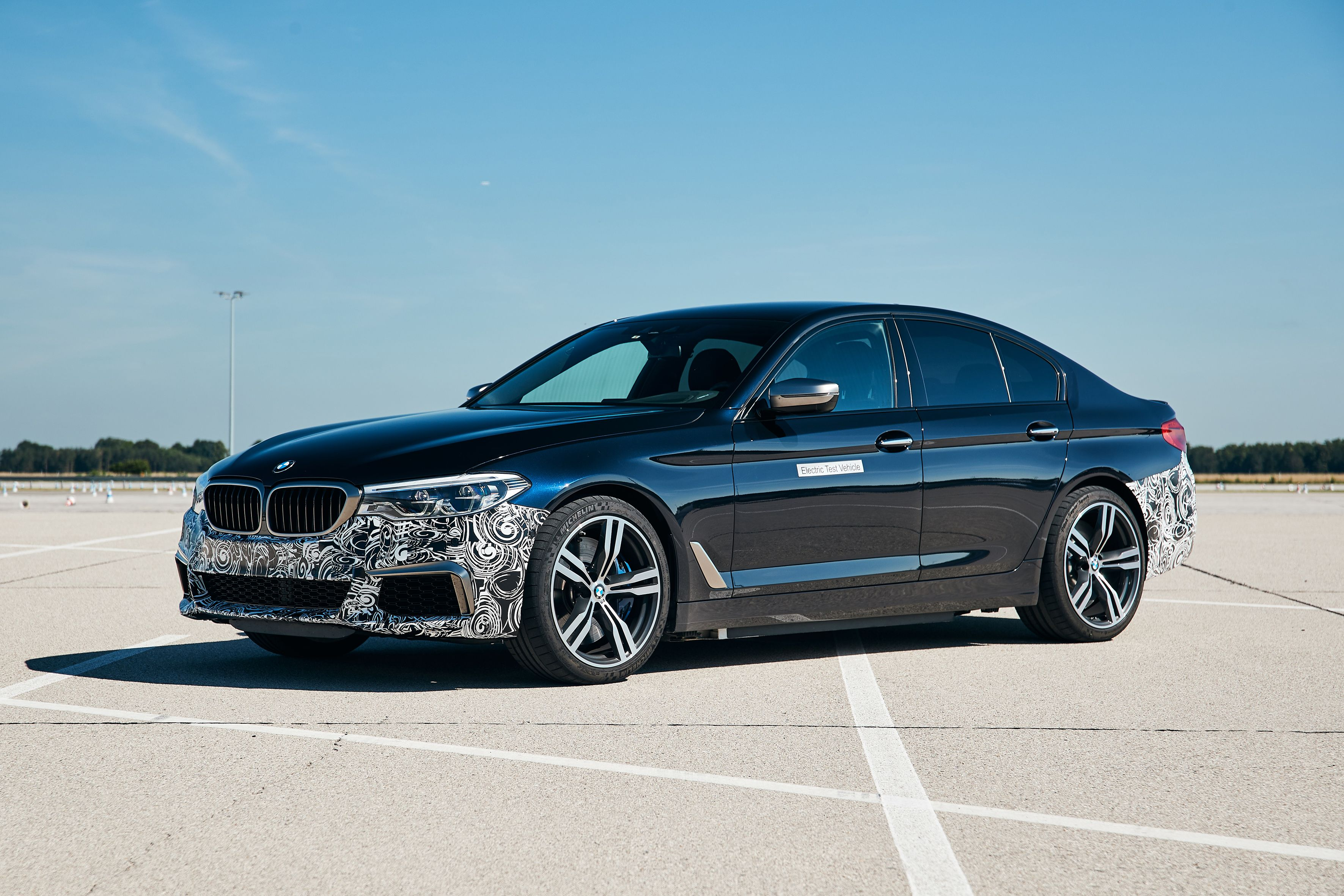 This Fully Electric 711-HP BMW 5-Series Prototype Is Amazingly Quick