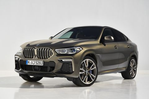 2020 Bmw X6 New Coupe Suv