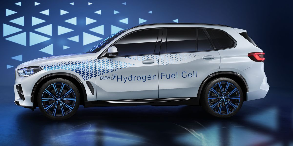 Bmw I Hydrogen Next Fuel Cell Concept Previews The 2021 X5 M
