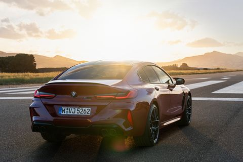 2020 bmw m8 gran coupe competition