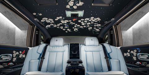 View Photos of the Rolls Royce Rose Phantom