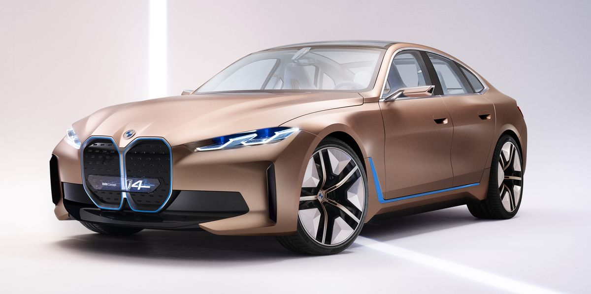BMW Readies i4, Its Answer to Tesla