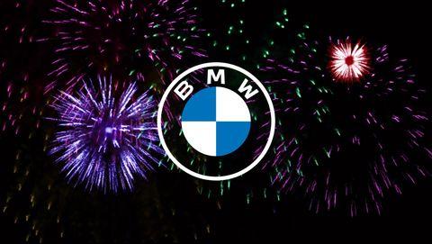 BMW's new roundel logo