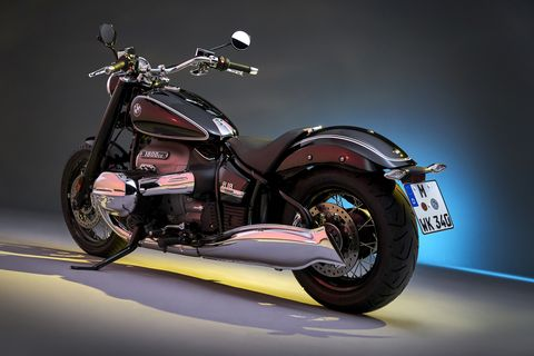 check out all these retro motorcycles