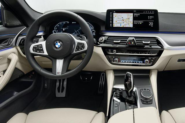 bmw interior 5 series